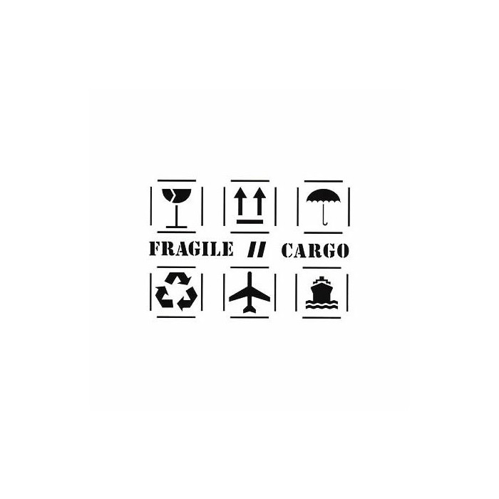 Stencil A3 Pictograms