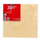 Cadre en bois 3D pour coulage 20x20cm