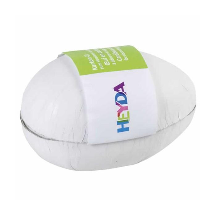 Cardboard egg white 12cm