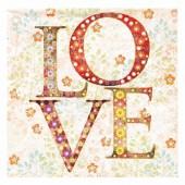 Napkin LOVE, 1 pce