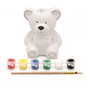 Money box painting kit - bear