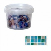 Glass mosaic tiles, Lagune mix