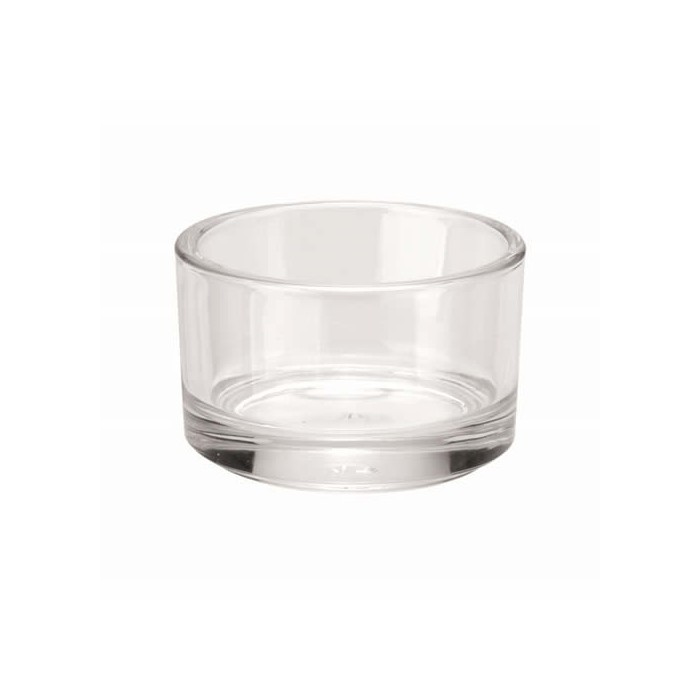Glass Candle holder 5cm, 1 pce