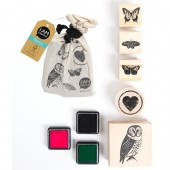 Stamps in a bag - Animals - 5 pcs