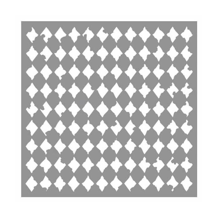 Stencil Harlequin 30.5x30.5cm