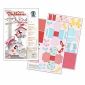 Ursus - Paper Birdhouses kit Blooming Rose