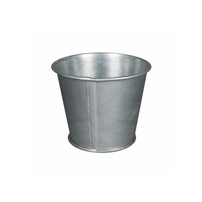 Metallic flowerpot Ø10cm