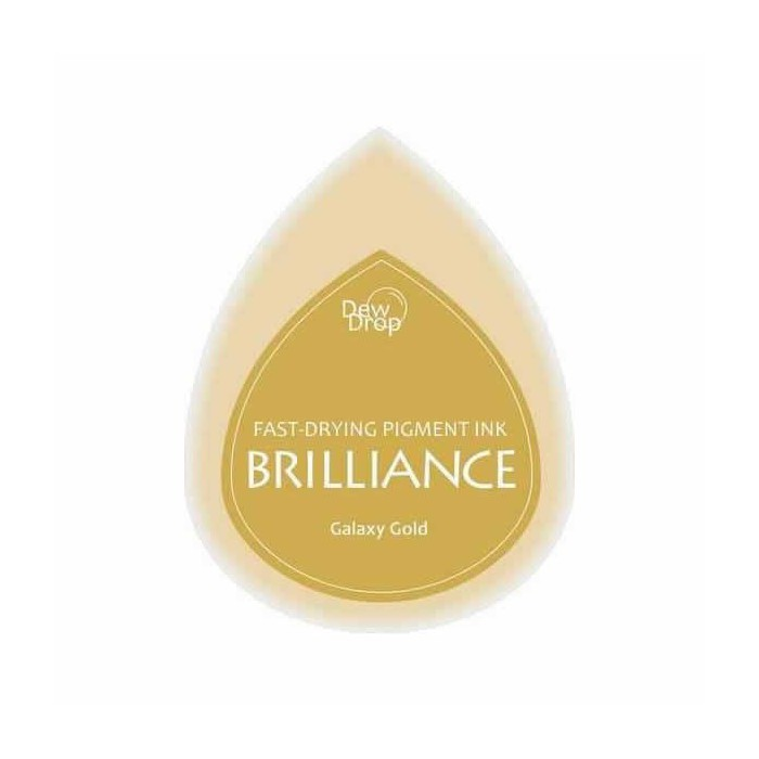 Brilliance stamp pad Galaxy Gold