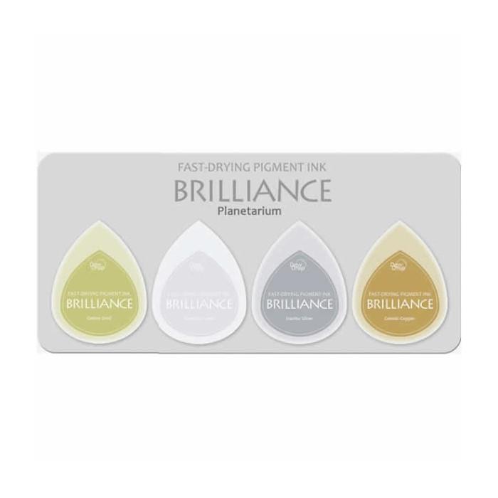 Brilliance 4 stamp pads