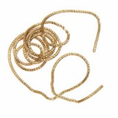Decorative wire, gold, Ø1.5mm/3.5m
