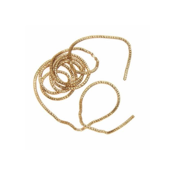 Decorative wire, gold, Ø1.5mm/3.5m