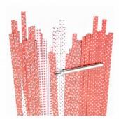 Bandes de papier pour Quilling - mix motifs rouge