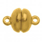 Magnetic clasp 12mm, gold