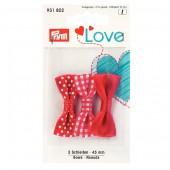 Prym Love - Bows 45mm - Red