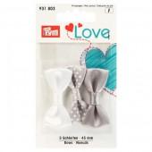 Prym Love - Bows 45mm - Grey