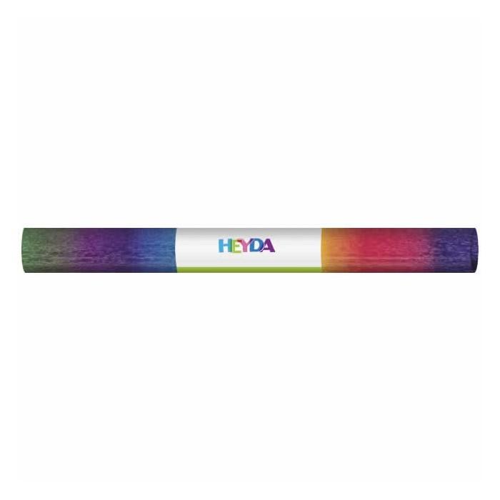 Crepe paper, 50x250cm, rainbow