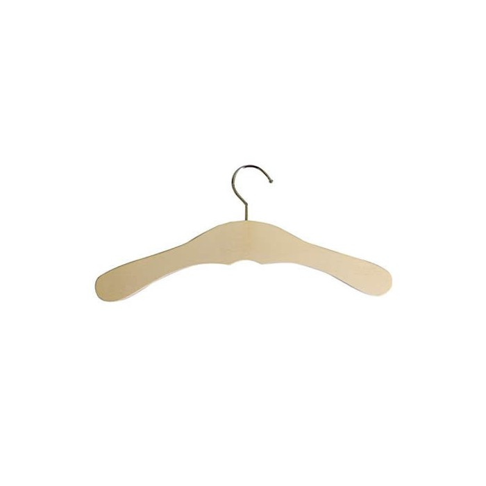 Wooden coat hanger for children, 27cm