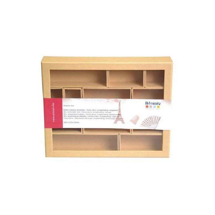 Cardboard Shadow Box 288x230mm