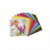 Origami Paper 10x10cm, 100 assorted sheets