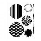 Tampons en silicone, Cercles décoratifs