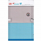"Prym Love Accessories fabrics ""bag"" blue/brown"