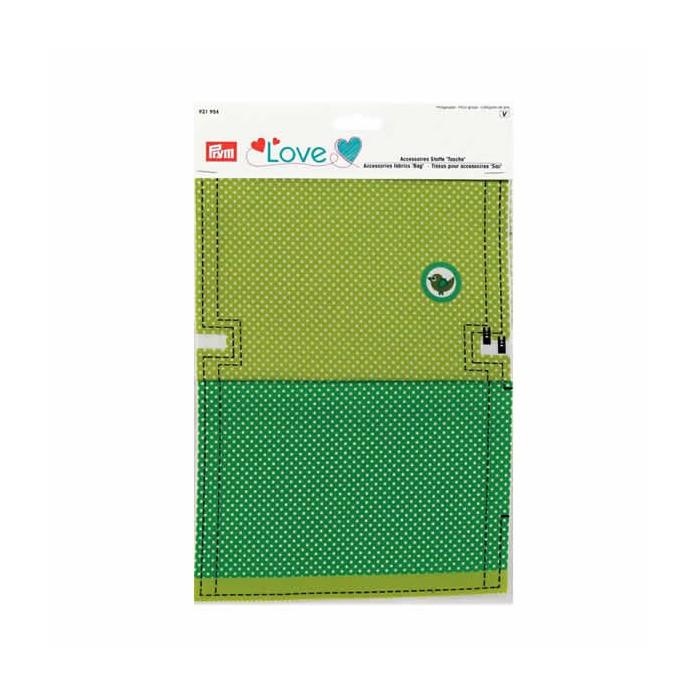 "Prym Love Accessories fabrics ""bag"" green"