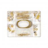 Kit d'accessoires couleur or/argent