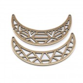 Set de deux barres collier, couleur bronze, 1 set