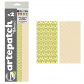 Artepatch paper, Pure Japan + beige, 2 sheets
