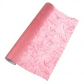 Fibre silk paper, rose