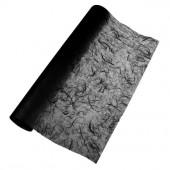 Papier de soie paillé, noir