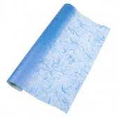 Fibre silk paper, light blue