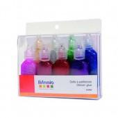 Artemio - Glitter Glue 8x20ml