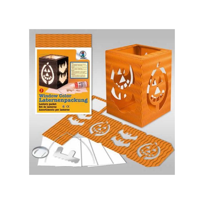 Lantern packet, orange, 13.5x18cm