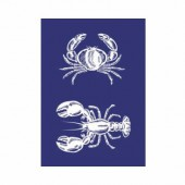 Stencil Lobster A5