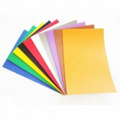Craft rubber, 10 sheets assorted, A4