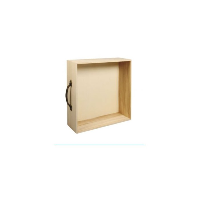 Wooden Tray/ Rack / Drawer 25x25x8cm
