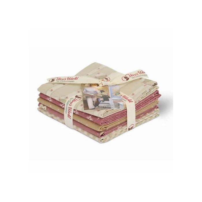 Gütermann Fat Quarters - Pemberley rose/beige