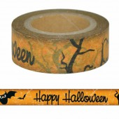 Masking Tape Happy Halloween
