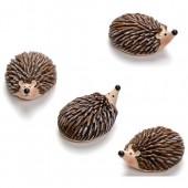 Hedgehogs 2cm, 4 pcs