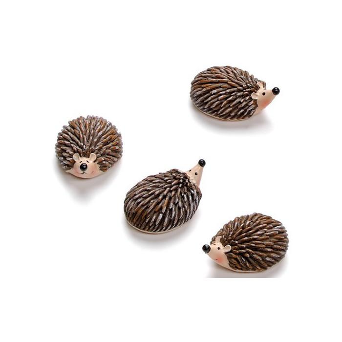 Hedgehogs 2.5cm, 4 pcs