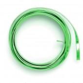 Fil aluminium plat 1.2x4mm, 2m, vert clair