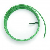 Fil aluminium Ø 2mm/2m, vert