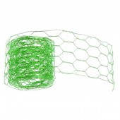 Mesh alu wire, 50mm/2m, green