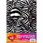 Zebra Paper, A4, 2 sheets