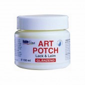 Art Potch, vernis-colle brillant  pour serviettes