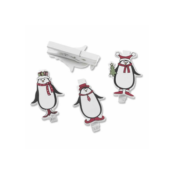 Christmas clip, Penguin