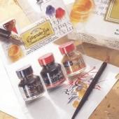 Winsor&Newton, 3 encres pour calligraphie