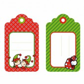 Artemio - 6 labels Christmas Lutins