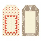 Artemio - 6 labels Christmas Jacquard